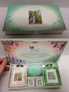 SOMERSET FLOWER FAIRIES LILY OF THE VALLEY GIFT COLLECTION SET REGALO MUGHETTO