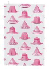 """Raja & Peel """"Jelly & Cake"""", Puro Cotone Asciugamani. scritto a mano nel Regno Unito."""