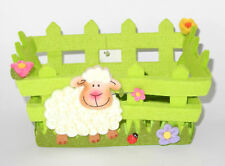 Osterkörbchen Osternest Filz mit Schaf