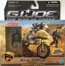 "RAM CYCLE & SANDSTORM The Pursuit Of Cobra GI JOE 2009 3.75"" Inch Action SET"