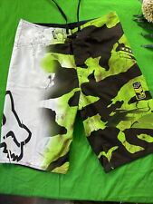 Fox Men's Surf Swim Board Shorts Size 32 Camouflage
