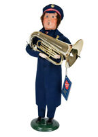 Byers' Choice Salvation Army Man With Tuba New Christmas Caroler