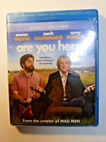 Are You Here Blu-ray & DVD 2-Disc Set comedy movie Owen Wilson Amy Poehler NEW!