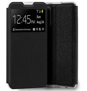 Funda Libro con Ventana para Xiaomi Redmi Note 10 5G / POCO M3 PRO 5G  Negra