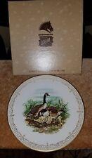 Edward Marshall Boehm English Bone China Plate Collection - Canada Geese