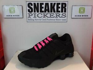 Nike Wmns Shox NZ NS PRM - 635791 020 - Black / Anthracite - Size: 8 REFLECTIVE