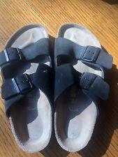 Birkenstock Arizona 39 - Black Leather Sandals Great condition