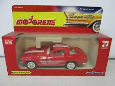 Majorette Legends 1963 Corvette Stingray No 2403
