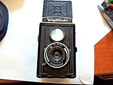 """Vintage 1930's Classic """"Voigtlander"""" Brillant German Twin Lens Camera"""