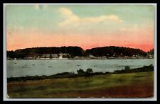 UNCOMMON YOUNGSTOWN OHIO LAKE WORTH POSTCARD, 1922