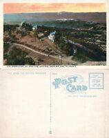 SAN JOSE CA MT.HAMILTON LICK OBSERVATORY ANTIQUE POSTCARD