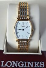 Longines La Grande Classique Ladies Two Tone Gold Plated Watch with box L4.205.2