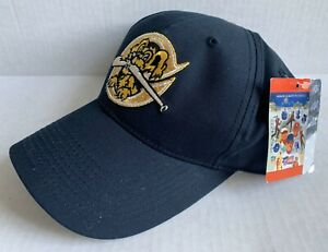CHARLESTON RIVERDOGS MINOR LEAGUE BASEBALL CAP, ADULT SIZE, BLACK, NEW WITH TAGS