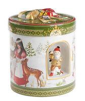 V&B Christmas Toys Geschenkpaket groß rund Schneewittchen Spieluhr + Windlicht