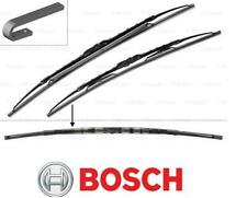 Front Flat Bosch Wiper Blade Set for Porsche Cayman 3.4 01//13-Present