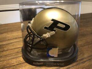 PURDUE BOILERMAKERS NCAA Schutt XP Authentic MINI Football Helmet