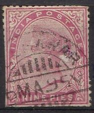 Used Sheet Indian Stamps (pre-1947)