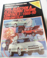 1988-90 Chilton Fuel Injection & Electronic Engine Controls Ford Chrysler Manual