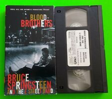 Bruce Springsteen Blood Brothers VHS 1996 Documentary Sony Music Hillary Clinton
