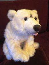 PLAYKIDS PELUCHE OURS POLAIRE BLANC (ref 281)