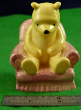 Royal Doulton Winnie The Pooh Collection WINNE THE POOH IN THE ARMCHAIR usc