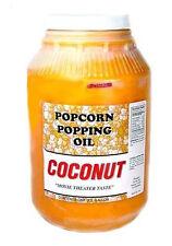 Popcorn Machine supplies - Coconut Oil  popcorn popping