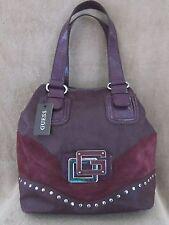 GUESS by Marciano VY323425 Subliminal Purple Tote Shopper Handbag Purse NWT