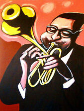 DIZZY GILLESPIE PRINT POSTER jazz trumpet group sessions cd manteca massey hall