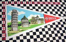 Grand Pisa vacances voyage sticker de vitre camping-car auto classique DORMOBILE