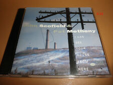 JOHN SCOFIELD & pat METHANY cd I CAN SEE YOUR HOUSE FROM HERE lee townsend