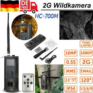 16MP 1080P 2G Wildkamera SMS GSM Jagdkamera Überwachungskamera IRNachtsicht Z4V5