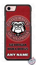 Georgia Bulldogs Logo Personalized Phone Case Cover For iPhone Samsung LG Google