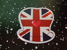 HEART BRITAIN Car Sticker Decal Bumper Stickers Actual Patterns NEW