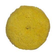 "Presta 7-1/4"" Quik Pad Yellow Blended Wool Medium Cutting Pad 890084WD"