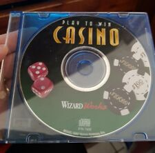 Play To Win Casino (disc only) -  PC GAME - FREE POST *