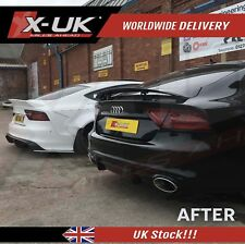 RS7 style rear diffuser (black FRP) for Audi A7 S-line / S7 2011-2014