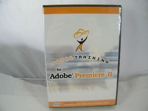 NEW ~ ADOBE PREMIERE 6 ~ TOTAL TRAINING DVD SERIES 1 ~ SEALED
