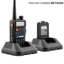 Baofeng UV-5R Radio Walkie Talkie VHF UHF Dual Band FM 5W Portable Transceiver