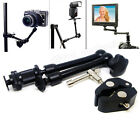 "11"" Articulating Magic Arm / Super Crab Clamp Plier Clip for Camera Monitor LCD"
