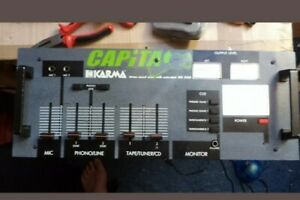 Karma MX 2505 Mischpult DJ Retro Hifi Stereo Audio Mischpult Mixer