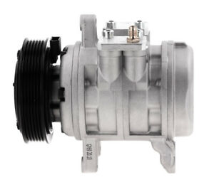 NEW AC COMPRESSOR FITS 1982-1993 FORD MUSTANG 5.0- 6P148 WITH CLUTCH- EAFZ19703A