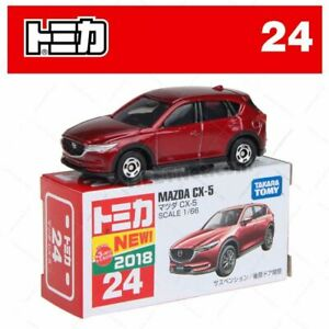 Tomica No 24 - Mazda CX-5 Red