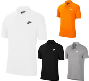 Nike Mens Polo Shirt Sports T-Shirt Top Pique Golf Cotton Tee Size S,M,L,XL