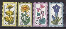 Berlin 1975 postfrisch MiNr.  510-513  Wohlfahrtsmarken Alpenblumen