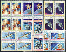 Space Used Lao Stamps