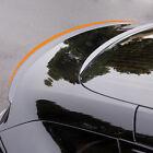 For Tesla Model 3 Matte Carbon Fiber Spoiler Trunk Lip Wing Rear Spoiler Tail
