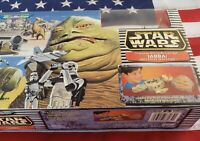 Star Wars Micro Machines Jabba Mos Eisley Spaceport Action Set Galoob 1997 NIB