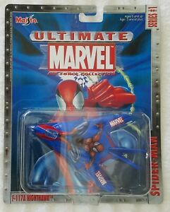 MAISTO ULTIMATE MARVEL AIR FORCE COLLECTION SERIES #1 SPIDER-MAN F117A NIGHTHAWK