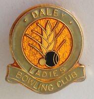 Dalby Ladies Bowling Club Badge Pin Rare Vintage (M16)