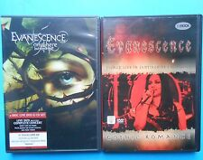 2 dvd concert evanescence gothic romance anywhere but home gothic metal amy lee